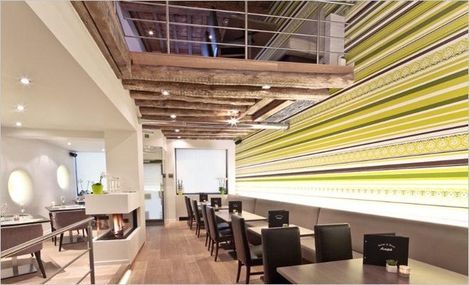 behang restaurant