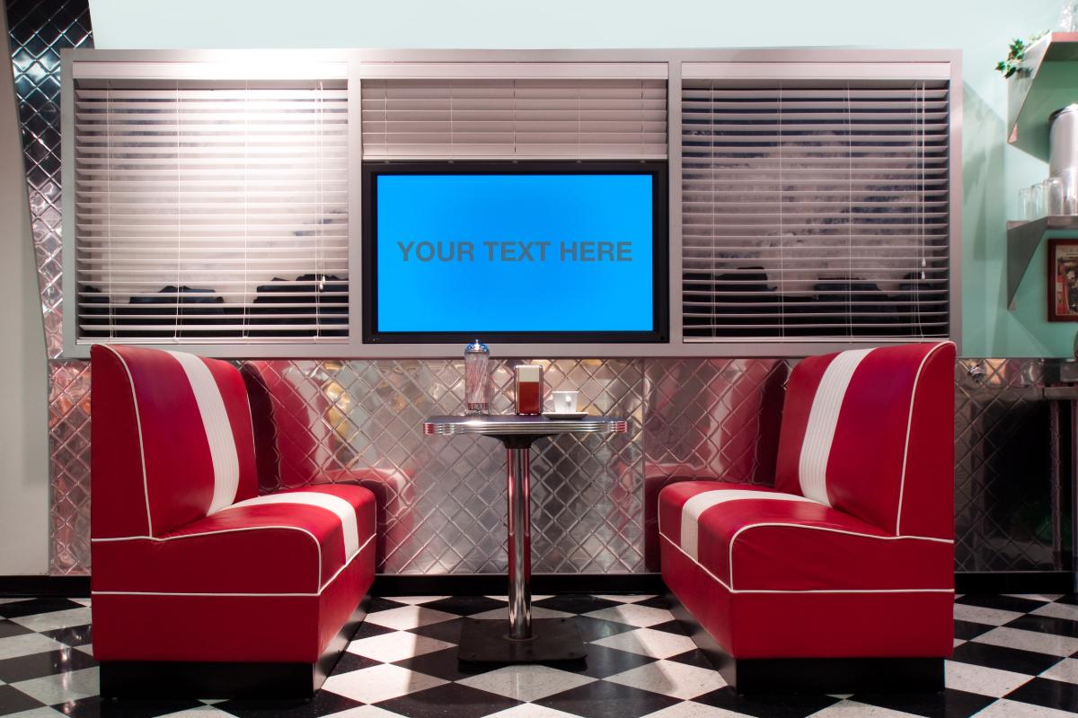 Bedwelming Horecazaak met retro interieur: voorbeelden & ideeën @BL12